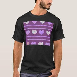 Camiseta Teste padrão decorativo dos cervos