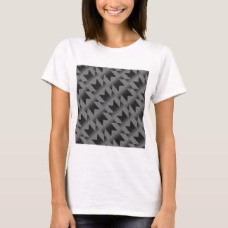 Camiseta Teste padrão diagonal de M