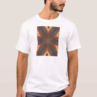 Camiseta teste padrão do lenço da queda do vintage