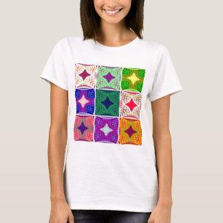 Camiseta teste padrão do matata de Hakuna de 9 estrelas