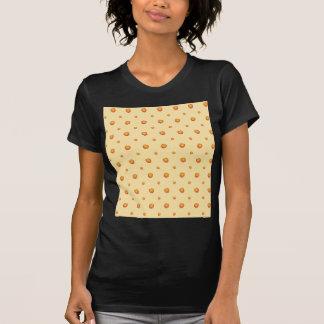 Camiseta Teste padrão do pêssego