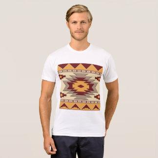 Camiseta teste padrão étnico do sudoeste do navajo