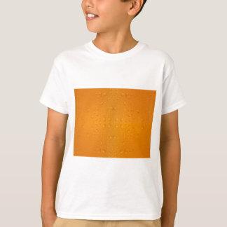 Camiseta Teste padrão macro 8868 do vidro de cerveja