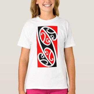 Camiseta Teste padrão maori 2 de Kowhaiwhai