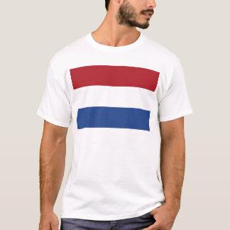 Camiseta Teste padrão patriótico de Netherland Holland