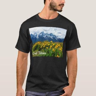 Camiseta Tetons grande bonito em Jackson, Wyoming!