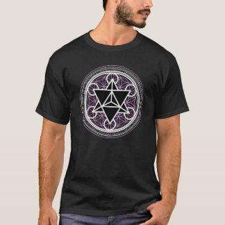 Camiseta Tetraedro da estrela/camisa de Markaba (geometria