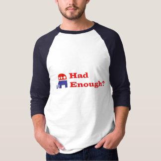 Camiseta Teve bastante?