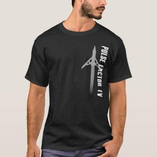 Camiseta Tevê do fator do pulso expansível