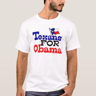 Camiseta Texans para o t-shirt de Obama