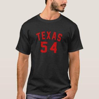 Camiseta Texas 54 designs do aniversário