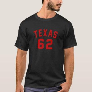 Camiseta Texas 62 designs do aniversário