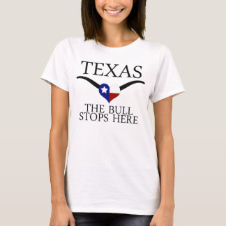 Camiseta Texas - a Bull para aqui