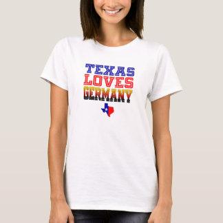 Camiseta Texas ama Alemanha