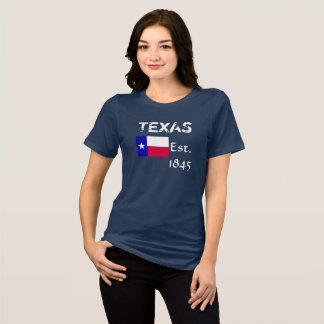 Camiseta Texas Est 1845 -- T-shirt