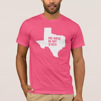 Camiseta Texas: Nenhum ódio em meu estado