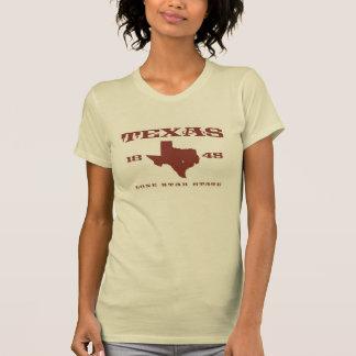 Camiseta Texas -- O estado solitário da estrela