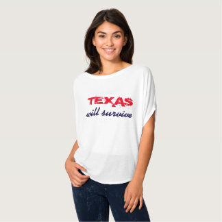 Camiseta Texas sobreviverá