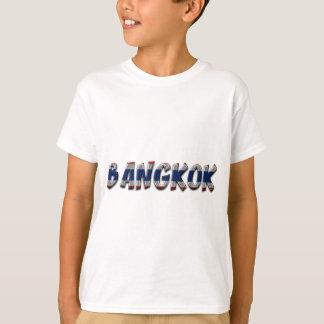 Camiseta Texto elegante da tipografia de Banguecoque