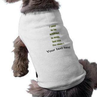 Camiseta Texto engraçado do sabão