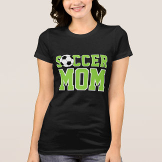 Camiseta Texto legal da mamã do futebol do divertimento do