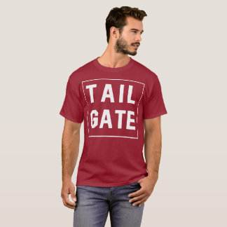 Camiseta Texto simples da bagageira
