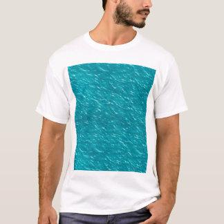 Camiseta Textura da água estética