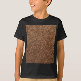 Camiseta textura da pimenta preta