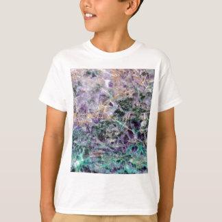 Camiseta textura de pedra amethyst