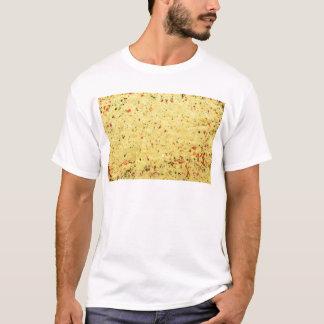 Camiseta Textura nutritiva do realçador do sabor