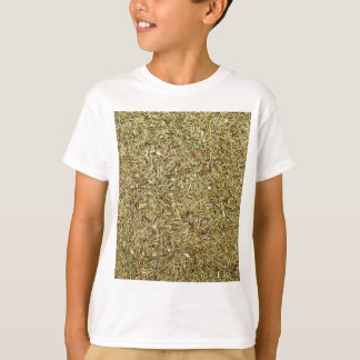 Camiseta textura secada do tomilho