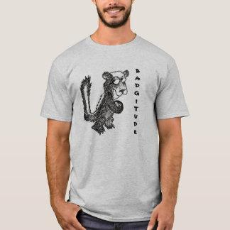 Camiseta Texugo de mel Badgitude