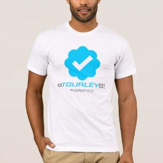 Camiseta @TGurley81 - Verificado
