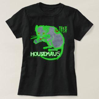 Camiseta TH! S - Arte do álbum Housemau5 [mulheres; Preto