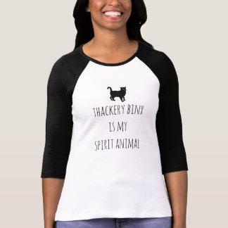 Camiseta Thackery Binx é o T da minha mulher animal do