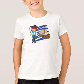 Camiseta Thaddeus e seu navio - t-shirt dos meninos