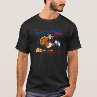Camiseta Thanksgivukkah feliz