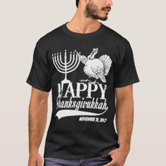 Camiseta Thanksgivukkah feliz personalizado