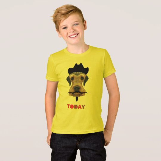 Camiseta the mustache puppy