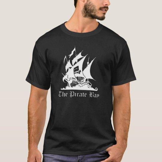 Camiseta The Pirate Bay Logo T-Shirt Black