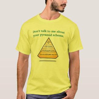 Camiseta THE-PYRAMID, não me falam sobre seu pyrami…