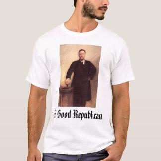 Camiseta Theodore Roosevelt, um bom republicano