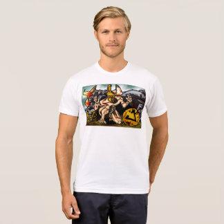 Camiseta Theseus massacra o Minotaur