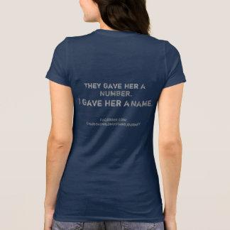 Camiseta TheyGaveHerANumber, t-shirt do mustang de