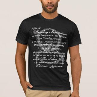 Camiseta Thomas Jefferson em bancos
