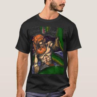 Camiseta Thor contra Jormungand