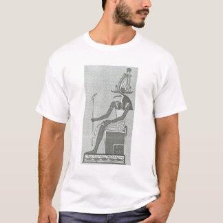 Camiseta Thoth que senta-se em seu trono