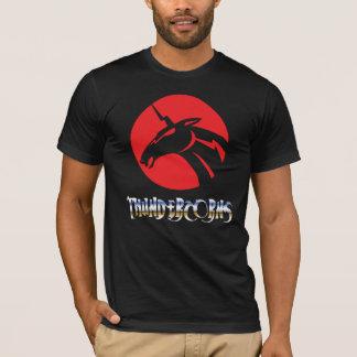 "Camiseta ""Thundercorns"" está no t-shirt fraco"