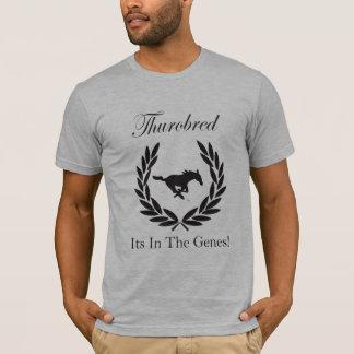 Camiseta Thurobred seu dentro os genes SJSA