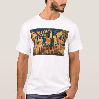 Camiseta Thurston, mágico mestre todo fora de um chapéu